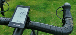 Avaris E-bike touch display