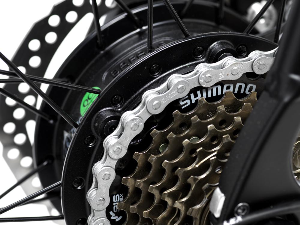 Avaris Ebike Shimano gears