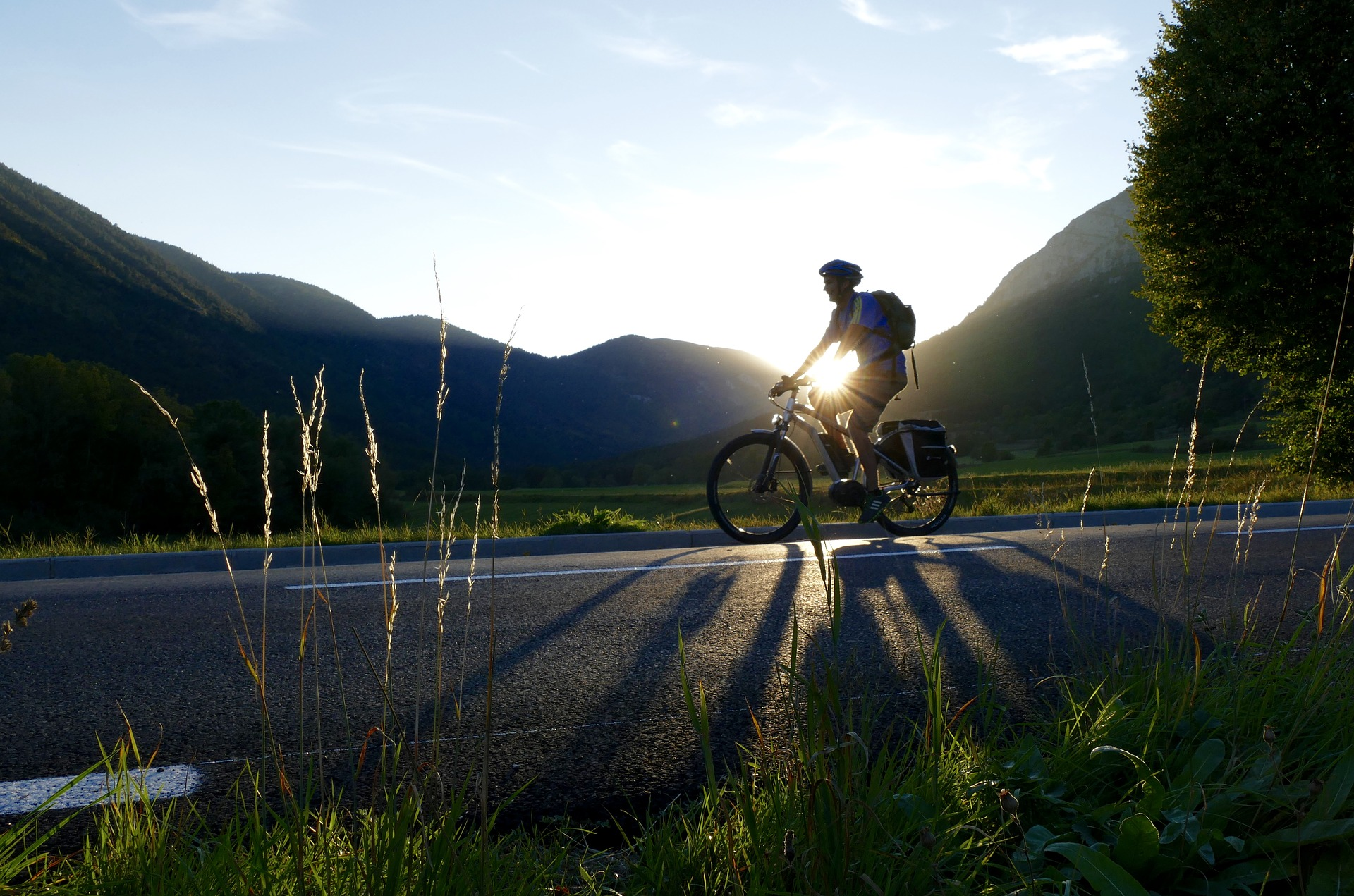 cycling scenic route